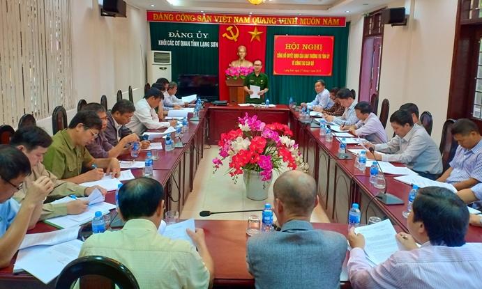 Ban Chấp hành Hội Cựu chiến binh tỉnh Lạng Sơn tổ chức Hội nghị đánh giá kết quả thực hiện công tác 9 tháng, triển khai nhiệm vụ trọng tâm công tác quý IV năm 2018 (1).jpg